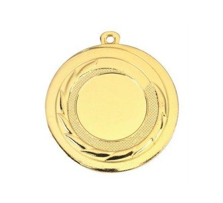 Médaille porte centre diamètre 50 mm.