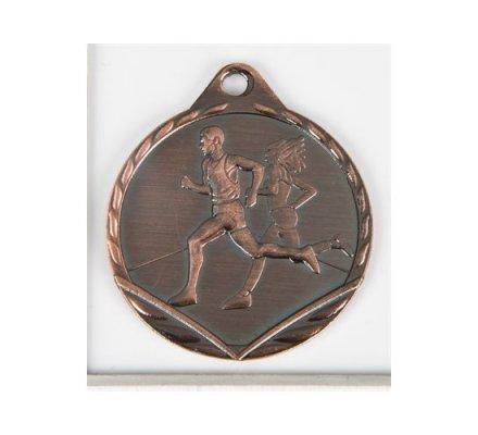 médaille en bronze course à pieds