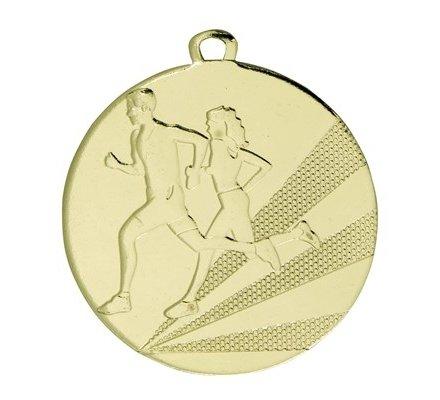 Médaille course à pied OR