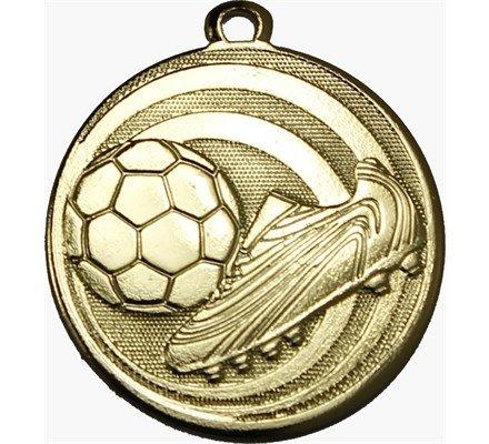 Médaille football  argent - 45mm