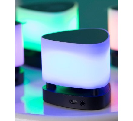 Lampe LED / Enceinte Bluetooth portable