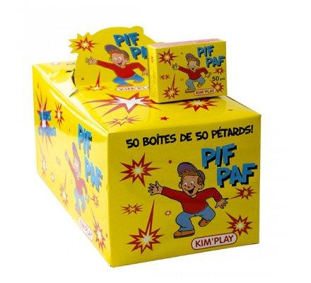 PIF PAF 50 boîtes de 50 pétards