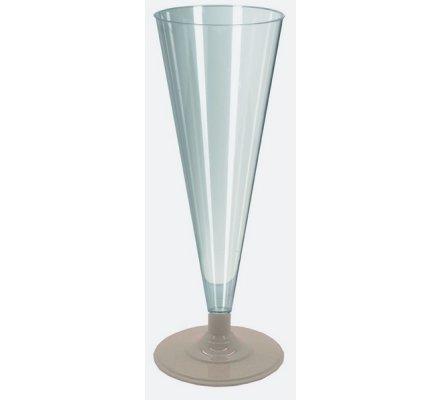 Flûte à champagne plastique x8