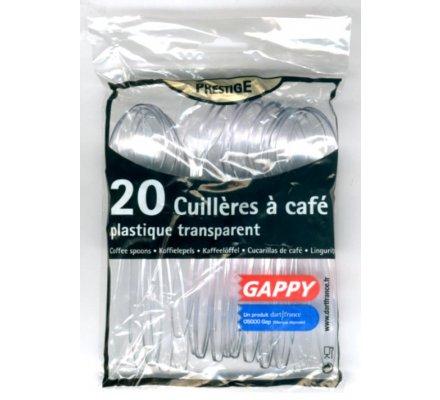 Cuillères à café en plastique x 20