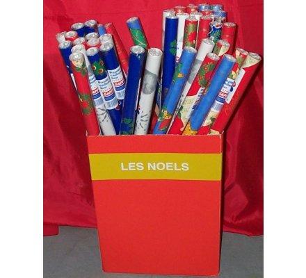 Papier cadeau décor Noël