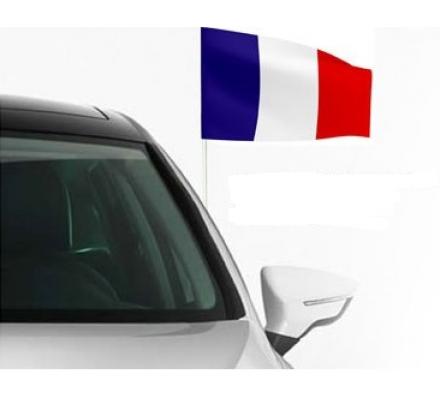 Drapeau France + Stick auto