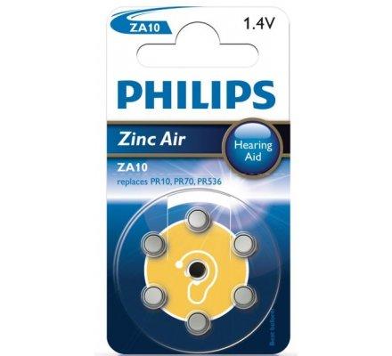 6 Piles auditives ZA10