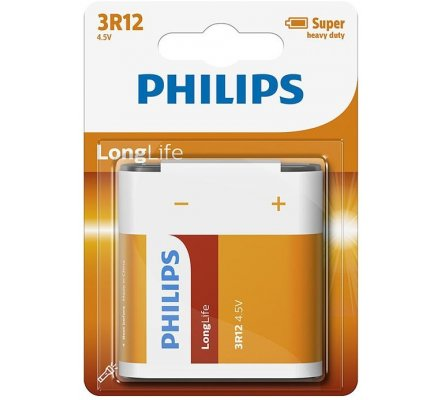 1 pile plate Long Life Philips