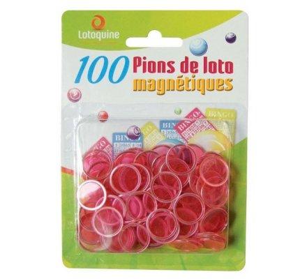 Pions magnétiques x 100 - Diam. 17,4 mm