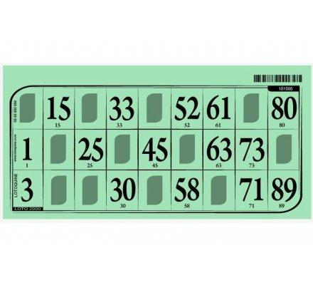 Cartons loto Grand Modèle  x 1 000