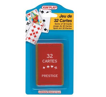 Jeu de 32 cartes prestige