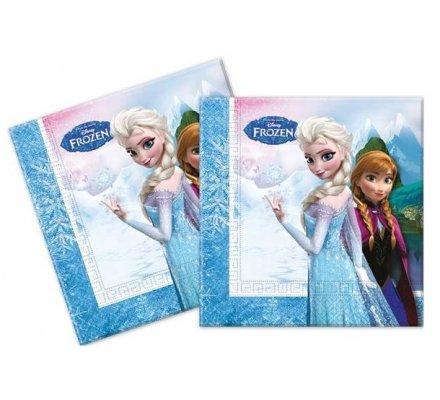 """20 serviettes 2 plis """"Frozen"""""""