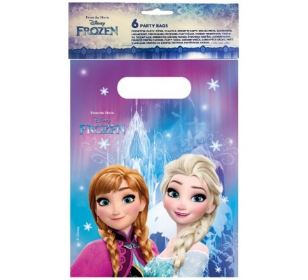 """6 sacs cadeaux """"Frozen"""""""