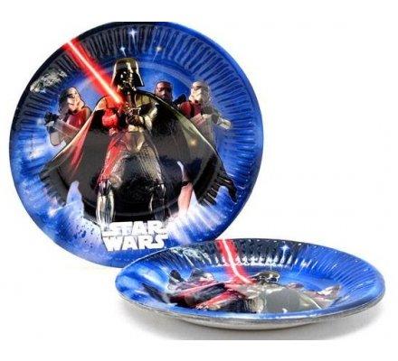 "8 assiettes ""Star Wars"" 20 cm"