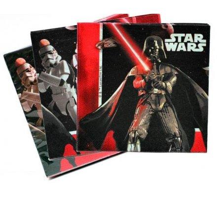 "20 serviettes 2 plis ""Star Wars"""