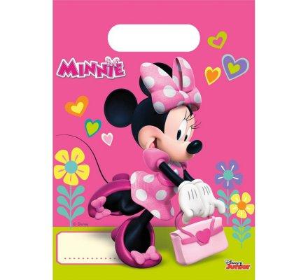 """Lot de 6 sacs cadeaux """"Minnie"""""""
