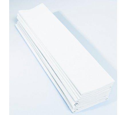 Papier crépon 60 % - 10 feuilles - Blanc