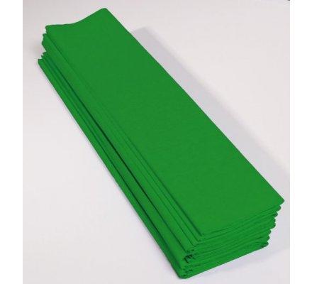 Papier crépon 40 % - 10 feuilles - Vert pré