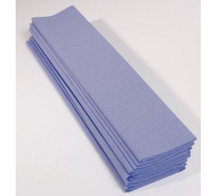 Papier crépon 40 % - 10 feuilles - Bleu ciel