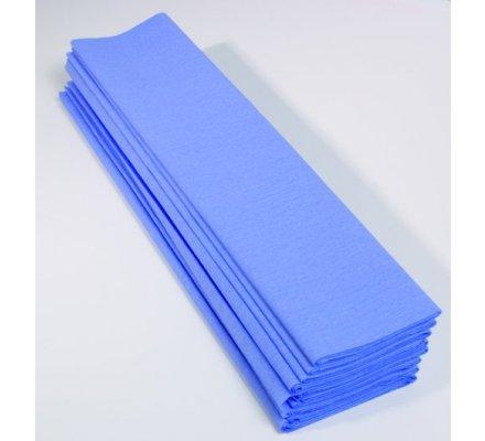 Papier crépon 40 % - 10 feuilles - Bleu pâle