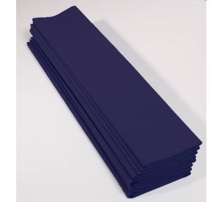 Papier crépon 40 % - 10 feuilles - Bleu marine