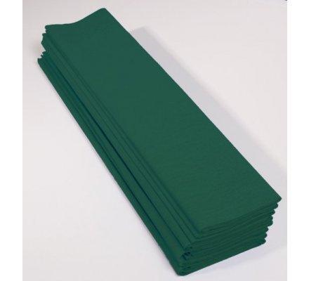 Papier crépon 40 % - 10 feuilles - Vert bouteille
