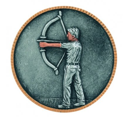 Disque 11 cm - Tir à l'arc horizontal