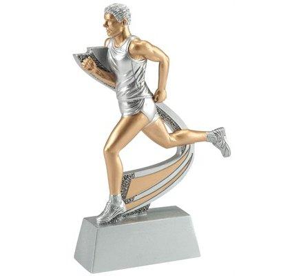 Trophée course à pied masculin 15 cm