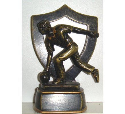 Trophée bowling 13 cm