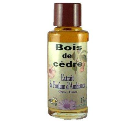 Extrait de parfum de Grasse - Bois de cèdre