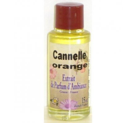 Extrait de parfum de Grasse - Cannelle orange