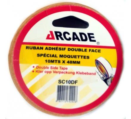 "Ruban adhesif double face ""spécial moquette"""