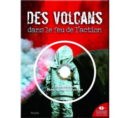 Livre + CD / Des volcans dans le feu de l'action