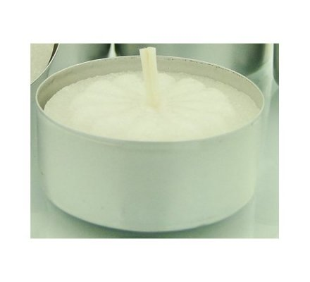 Set de 12 bougies tealight arôme jasmin