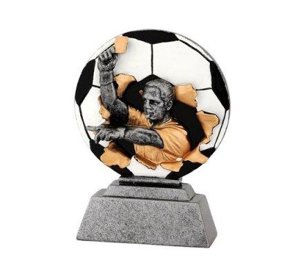 Trophée gardien de football 16 cm
