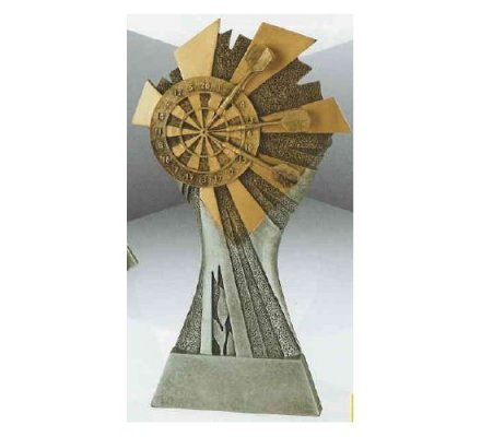 Trophée fléchettes 20 cm