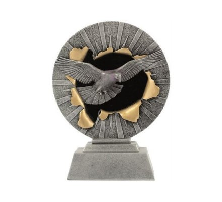 Trophée pigeon 18 cm