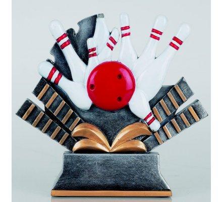 Trophée bowling 18 cm