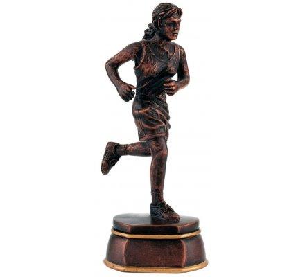Trophée course à pied Féminin 15 cm