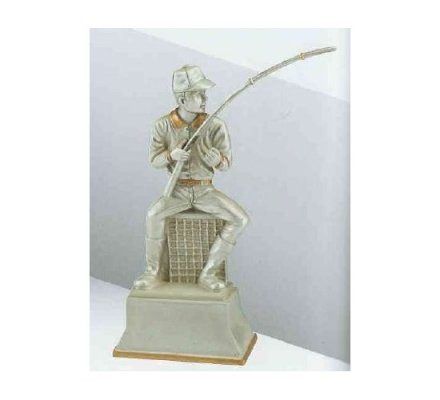 Trophée pêche 18 cm
