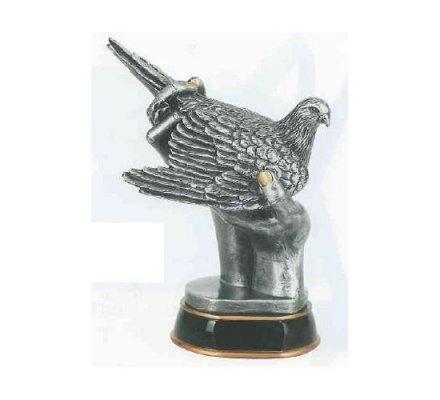 Trophée pigeon 35 cm