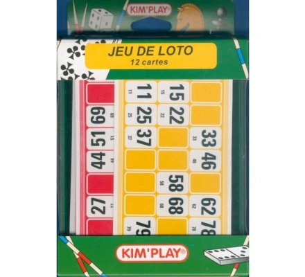 Jeu de Loto + 12 cartes