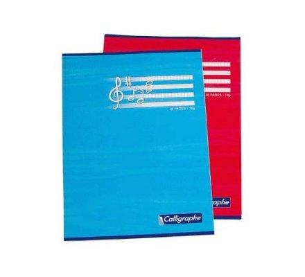 Cahier de musique et chant