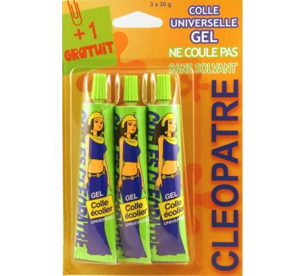 3 tubes colle universelle x 30 g