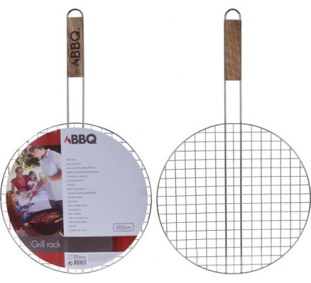 Grille barbecue ronde 32cm