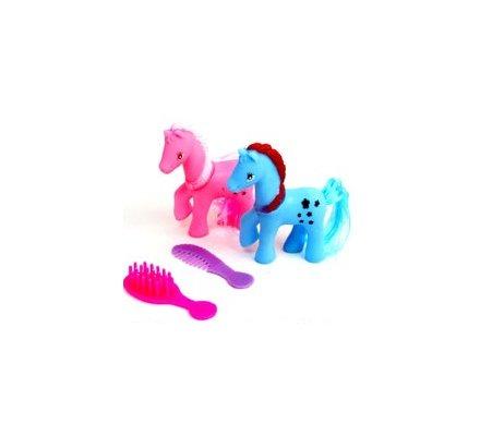 2 poneys à coiffer
