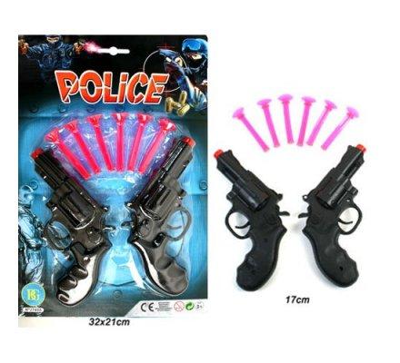 2 pistolets police + 6 flèches