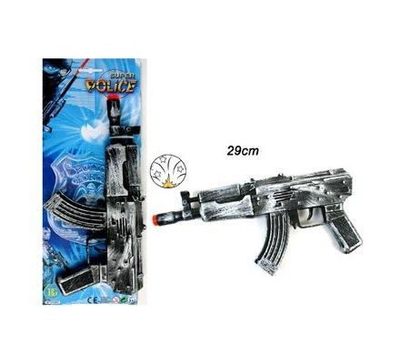 Fusil bruiteur rouille 29 cm