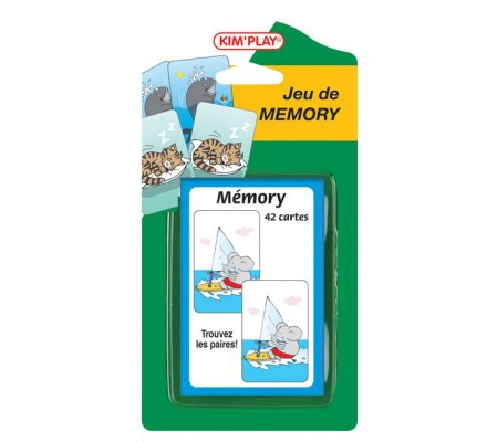 Jeu de mémoire 42 cartes