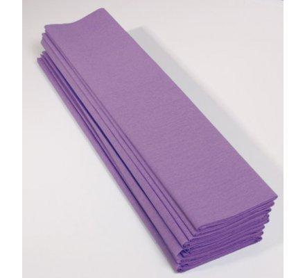 Papier crépon 40 % - 10 feuilles - Mauve